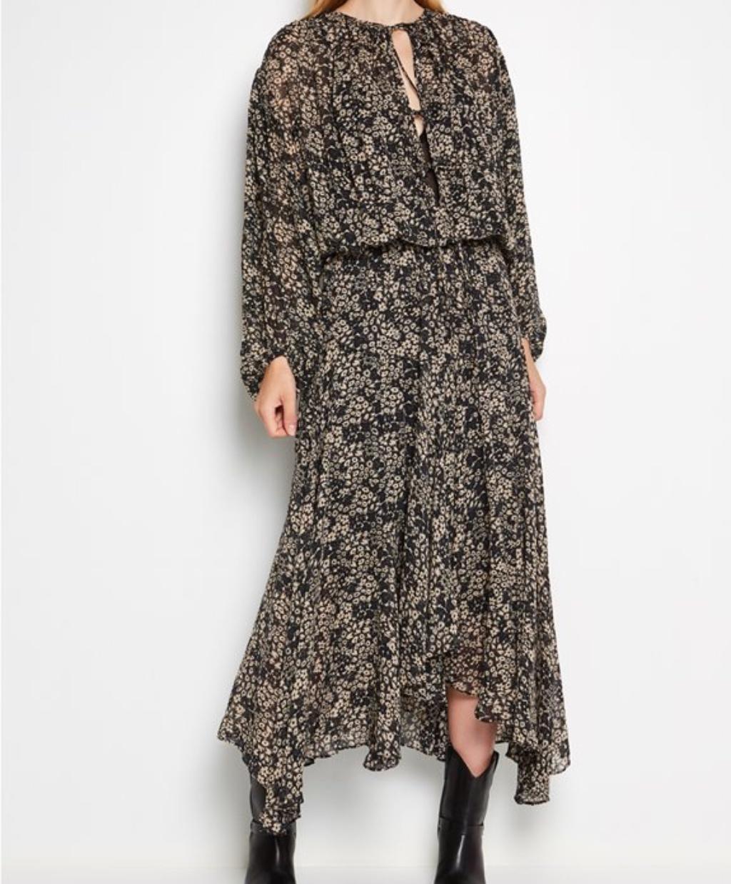 Φόρεμα με μοτίβο Isabel Marant Attica