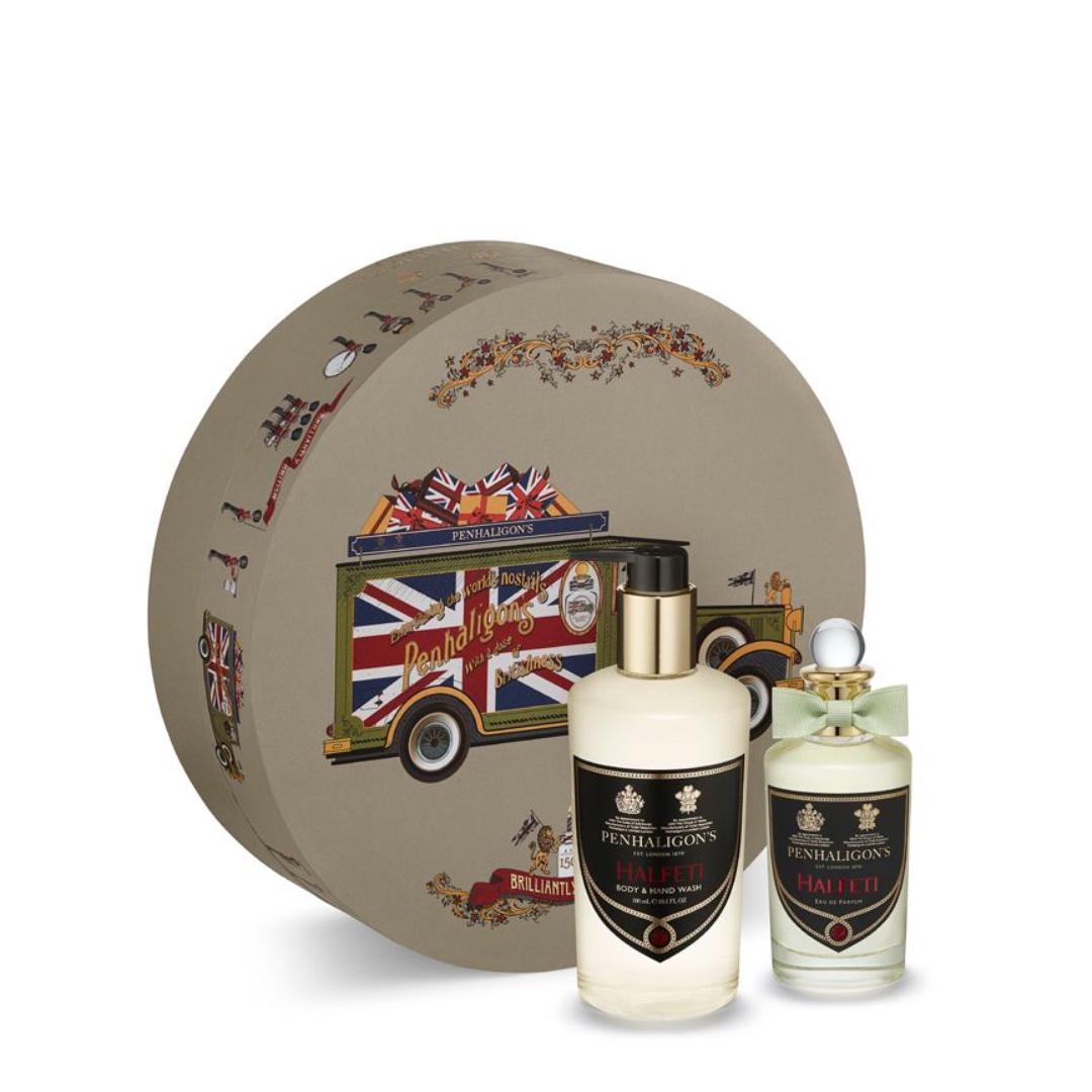 Halfeti gift set:Το σετ αυτό περιέχει το άρωμα Halfe~ Eau De Parfum (100ml) και το Halfe~ Βody & Hand Wash (300ml)