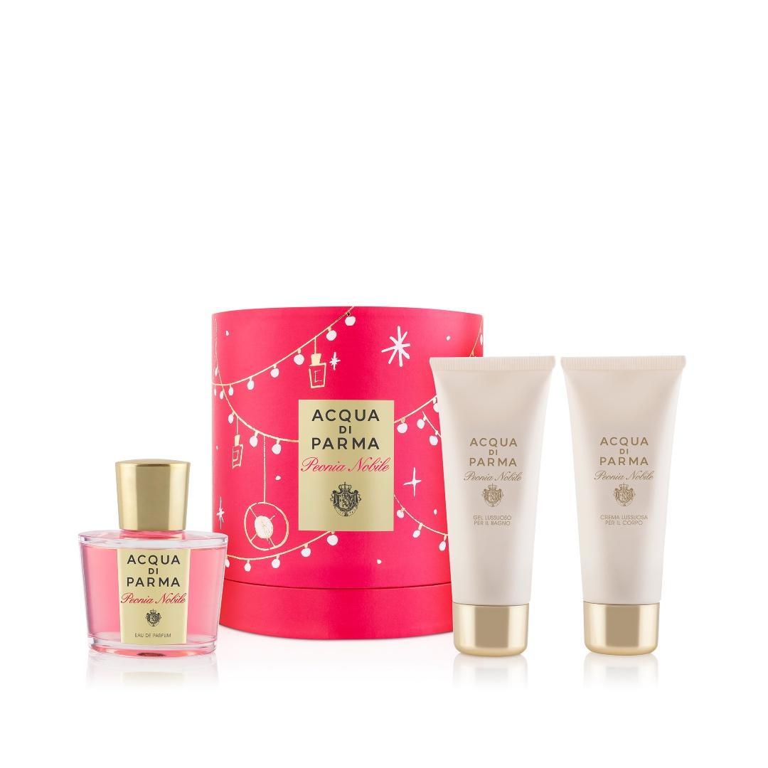 Peonia Nobile GiT Set: το σετ περιλαμβάνει Eau De Parfum (100ml), Βath & Shower Gel (75ml) και body cream (75g)