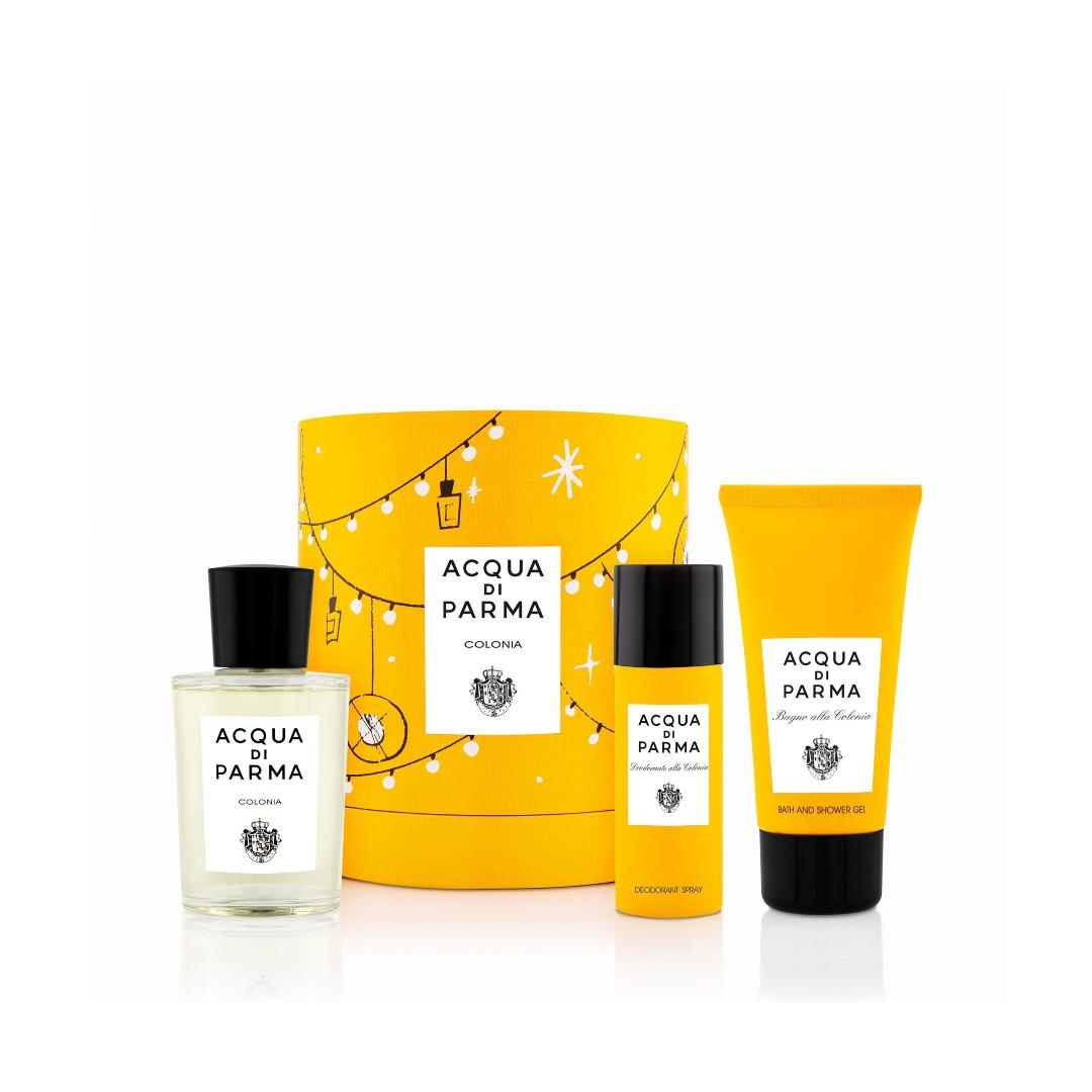 Colonia Gift Set: Το σετ περιέχει Eau de Cologne (100ml), Shower Gel (75g) και Deodorant (50ml)