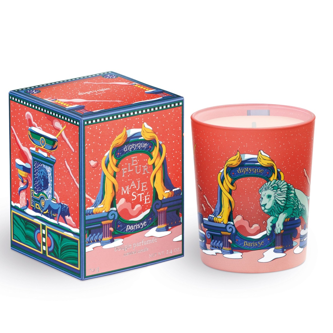 Candle Floral Majesty, diptyque