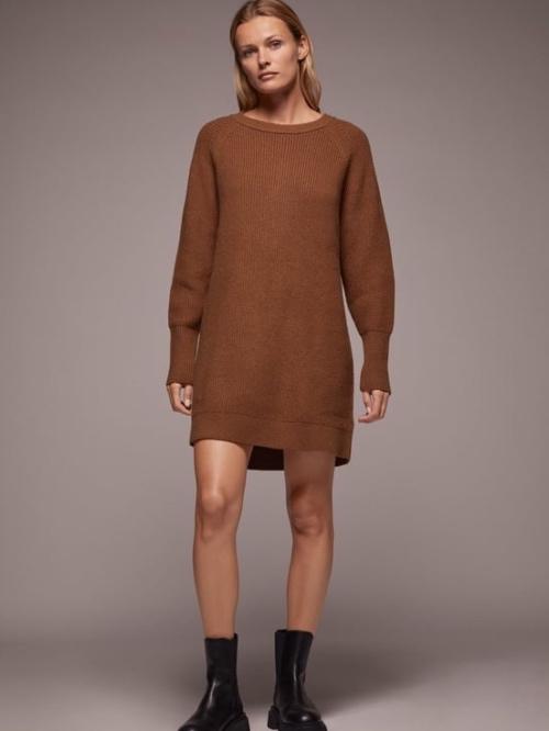 Πλεκτό μίνι φόρεμα 12,99 eur ZARA